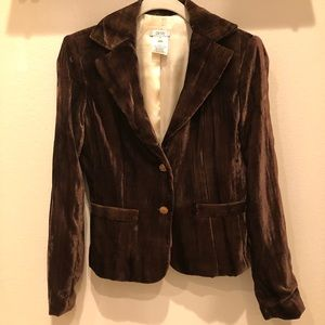 Cache Brown Blazer